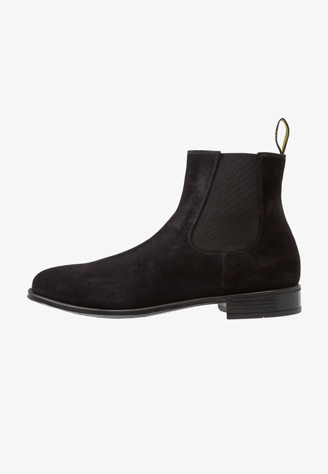 AUGU - Classic ankle boots - point nero