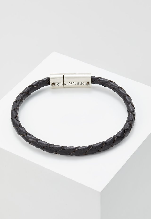 BRAIDED BRACELET - Bracelet - black