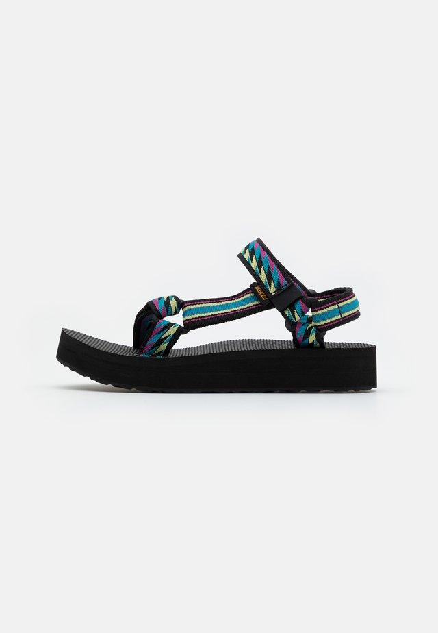 MIDFORM UNIVERSAL - Chodecké sandály - bolt retro