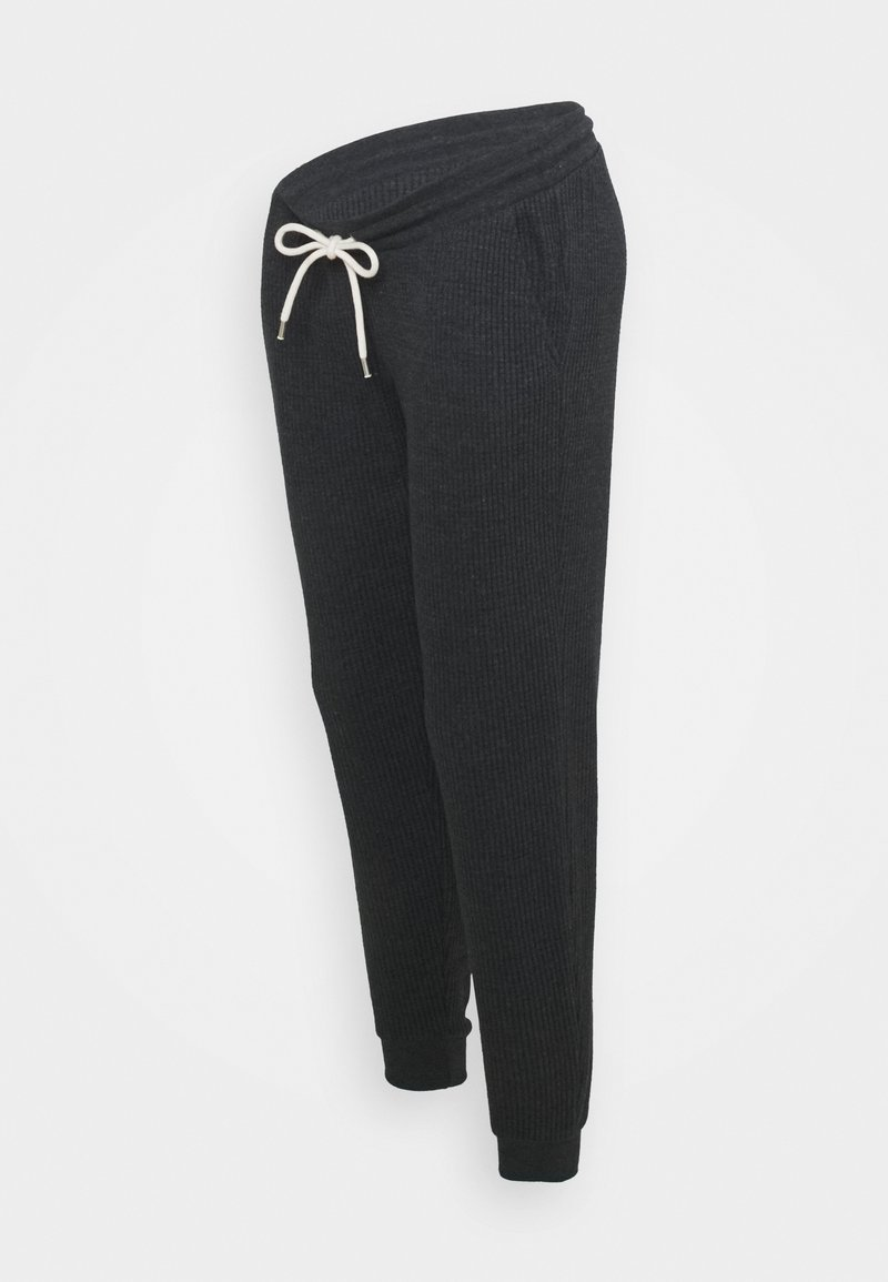 GAP Maternity - UNDERBELLY - Tracksuit bottoms - moonless night