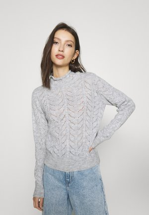 VMCARLA HIGHNECK - Jumper - light grey melange