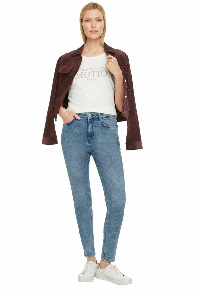 comma - Jeans Skinny Fit - stoned blue