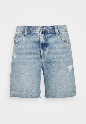 Denim shorts - light pacific