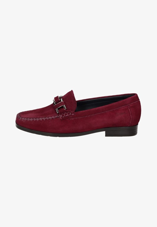 CAMBRIA - Slip-ons - red