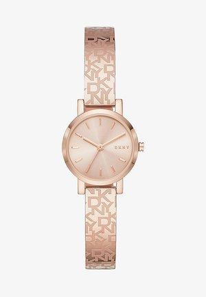 Horloge - rosé