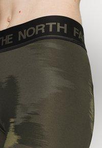 The North Face - W FLEX MID RISE TIGHT -EU - Leggings - green - 3