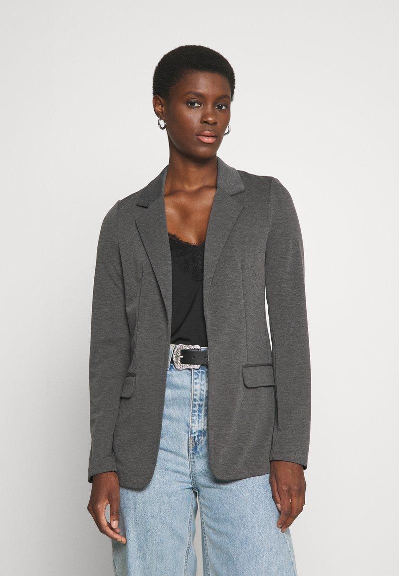 Vero Moda Tall - VMJILLNINA  - Blazer - dark grey melange