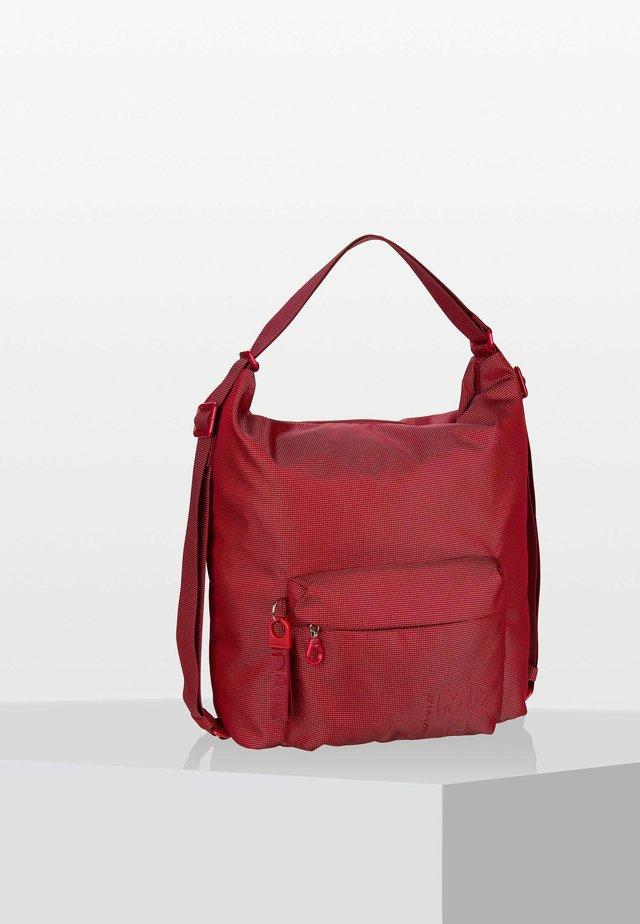 LUX - Tote bag - flame scarlet