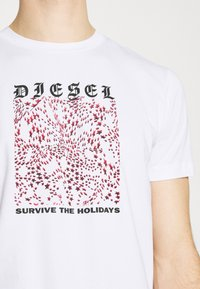 Diesel - DIEGOS - Print T-shirt - white - 5