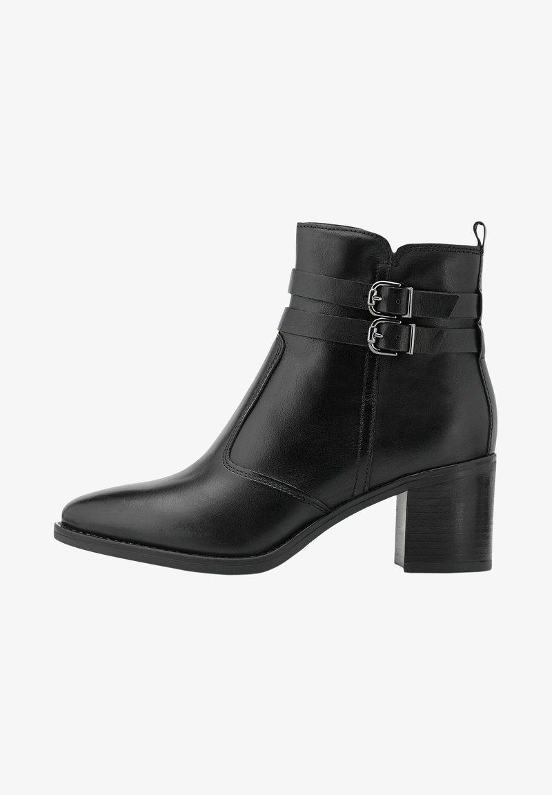 COX - Cowboy/biker ankle boot - schwarz