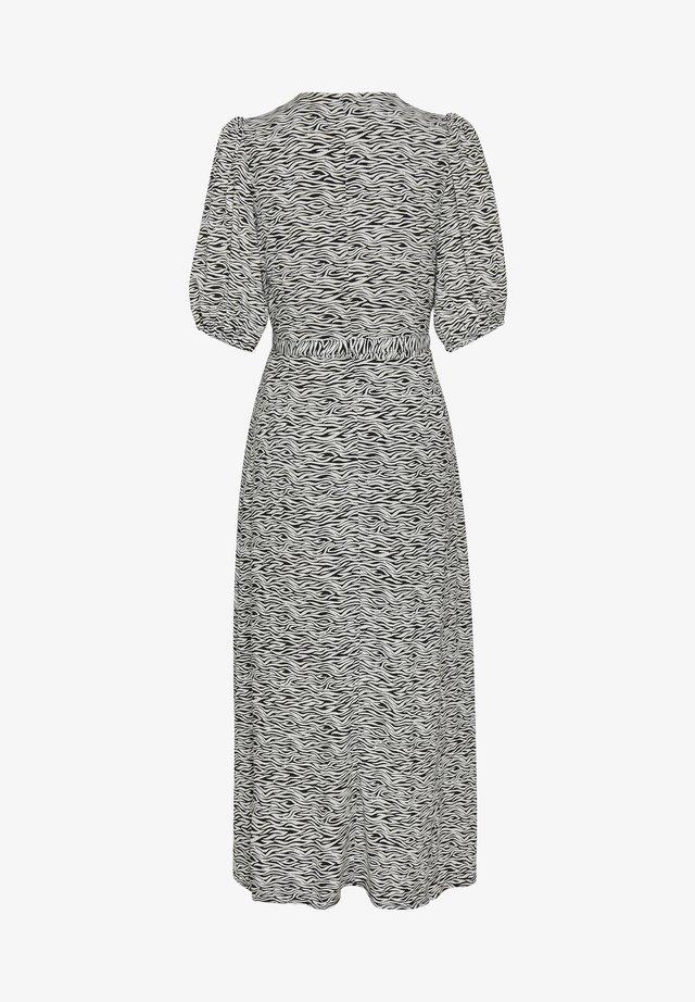 Długa sukienka - grey wave