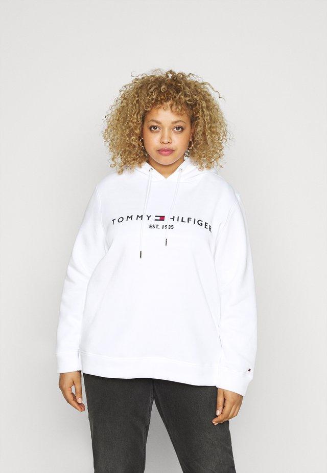 REGULAR HOODIE  - Jersey con capucha - white