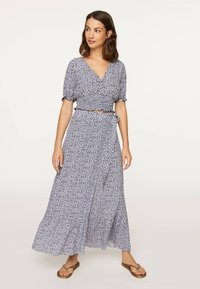 OYSHO - A-line skirt - blue - 1