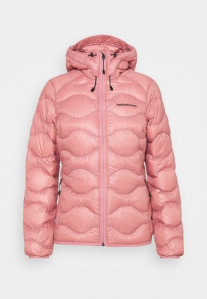 HELIUM HOOD JACKET - Down jacket - warm blush