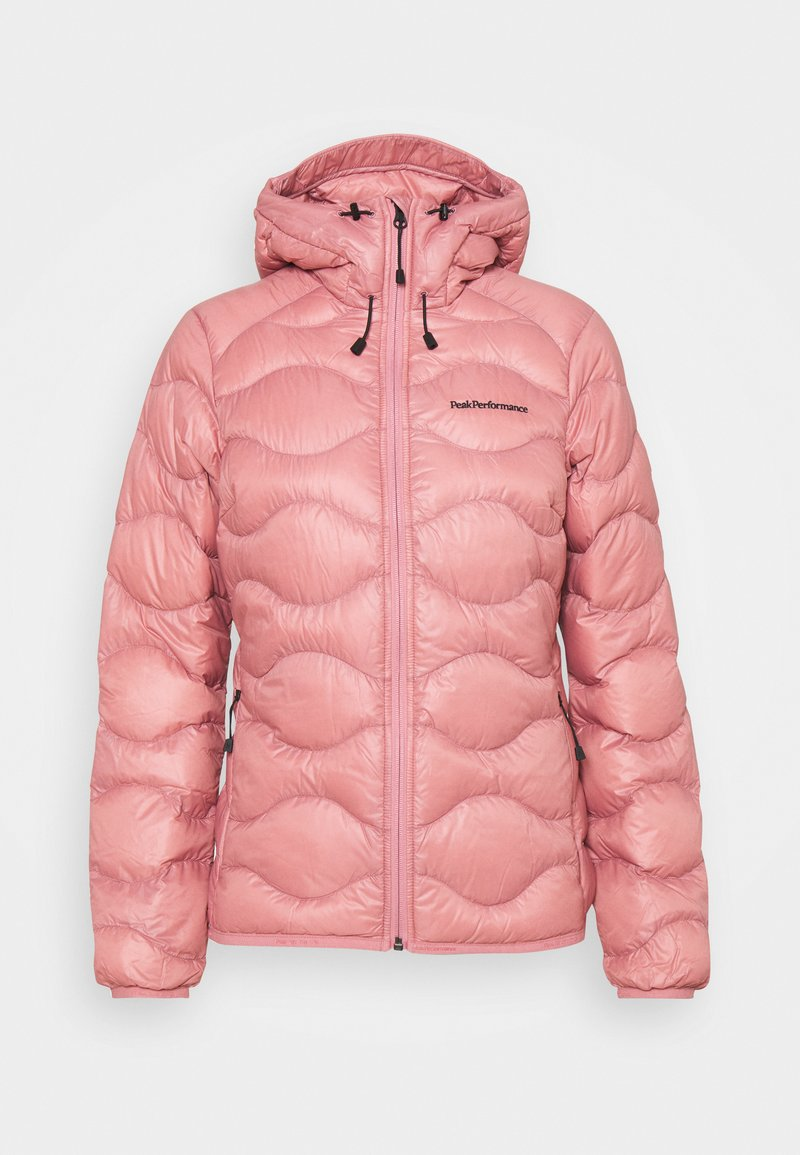 Peak Performance - HELIUM HOOD JACKET - Down jacket - warm blush