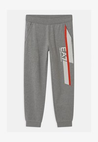 Emporio Armani - EA7 PANTALONI - Teplákové kalhoty - medium grey melange - 0