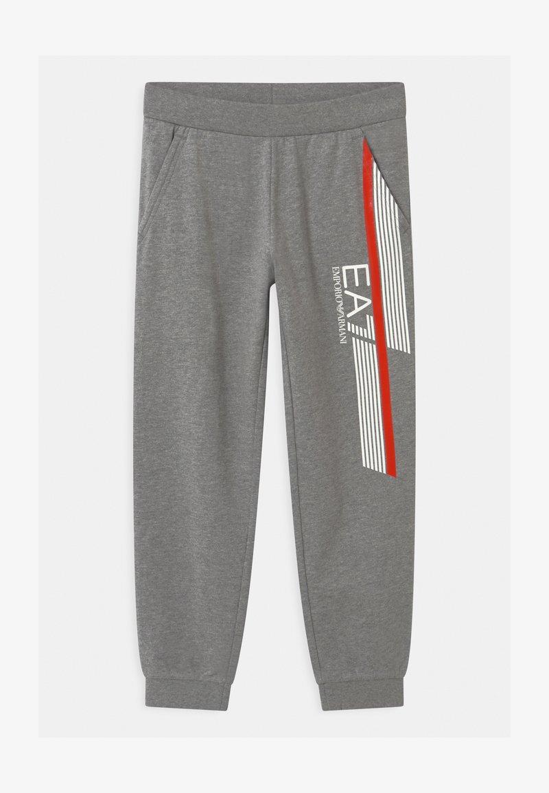 Emporio Armani - EA7 PANTALONI - Teplákové kalhoty - medium grey melange