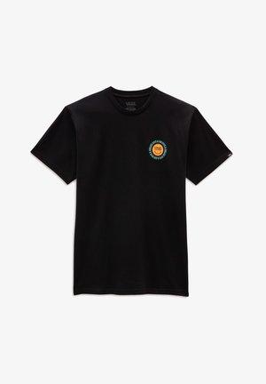 MN ENDLESS RAYS SS - T-shirt med print - black
