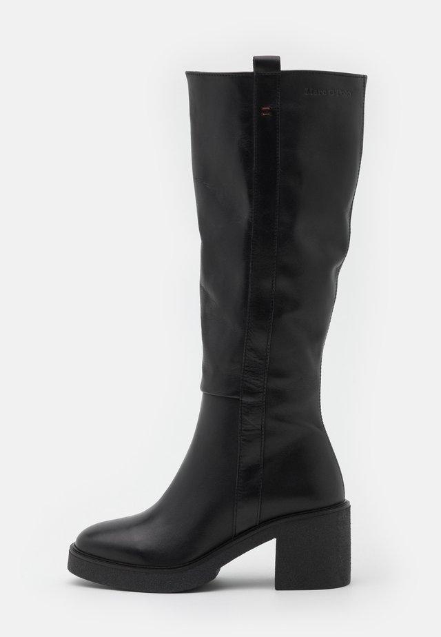 KANDY  - Vysoká obuv - black