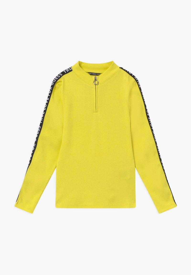 Guess - JUNIOR - Top sdlouhým rukávem - yellow