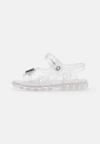 UNISEX - Sandals - transparent