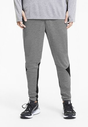 Tracksuit bottoms - medium gray hthr