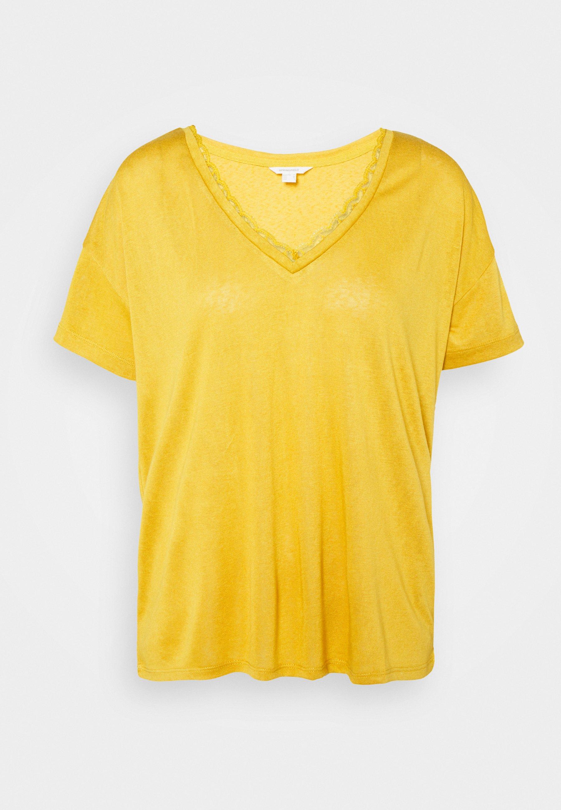 Women CUELLO PICO - Basic T-shirt