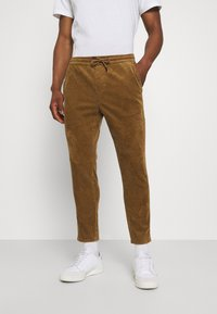 Only & Sons - ONSLINUS LIFE CROPPED - Trousers - kangaroo - 0