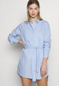 ONLY - ONLNESSA LOOSE SHIRT DRESS - Shirt dress - granada sky/granada sky bright - 2