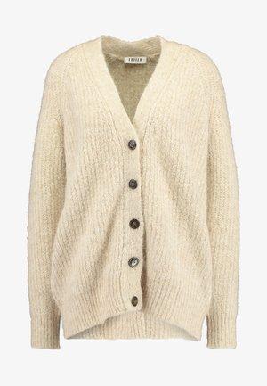 ELIANDRO CARDIGAN - Vest - beige