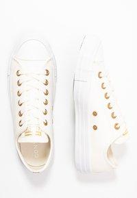 Converse - CHUCK TAYLOR ALL STAR - Joggesko - egret/gold/white - 3