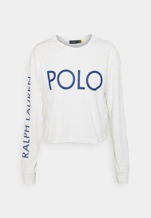 LONG SLEEVE - T-shirt à manches longues - deckwash white