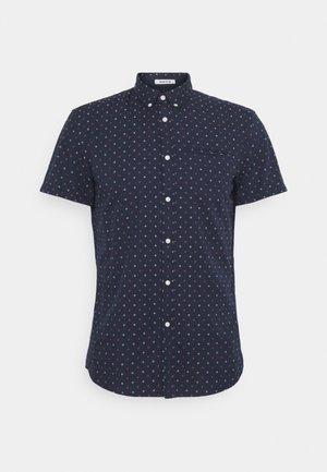 SHORT SLEEVE - Shirt - navy two tone