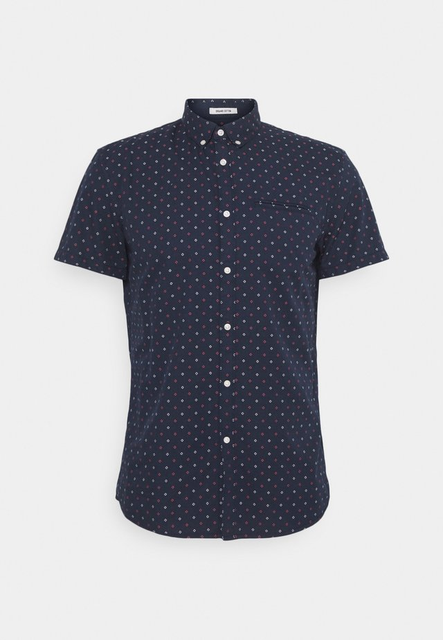 SHORT SLEEVE - Overhemd - navy two tone
