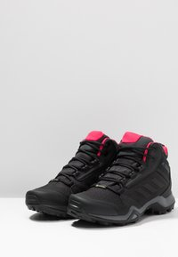 adidas Performance - TERREX AX3 MID GORE-TEX - Hiking shoes - carbon/core black/active pink - 2