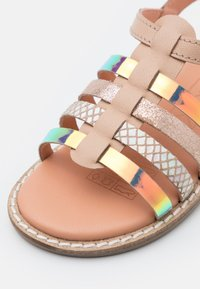 Friboo - LEATHER - Sandals - nude - 5