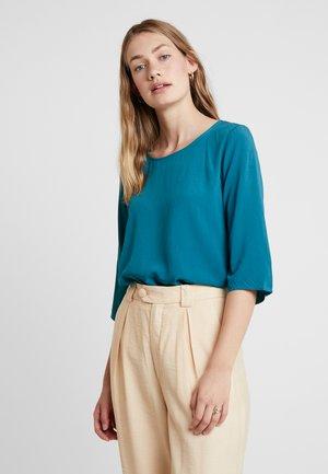 BERLIN SOLID - Bluse - deep green