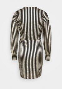 Pinko - CACHACA DRESS - Vestito elegante - nero/oro - 1