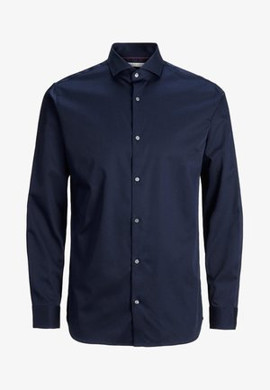 ELEGANTES - Zakelijk overhemd - navy blazer