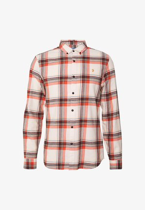 BUTTERFIELD CHECK - Shirt - moroccan orange