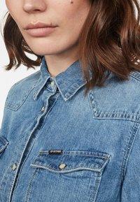 G-Star - 3301 - Button-down blouse - blue denim - 2