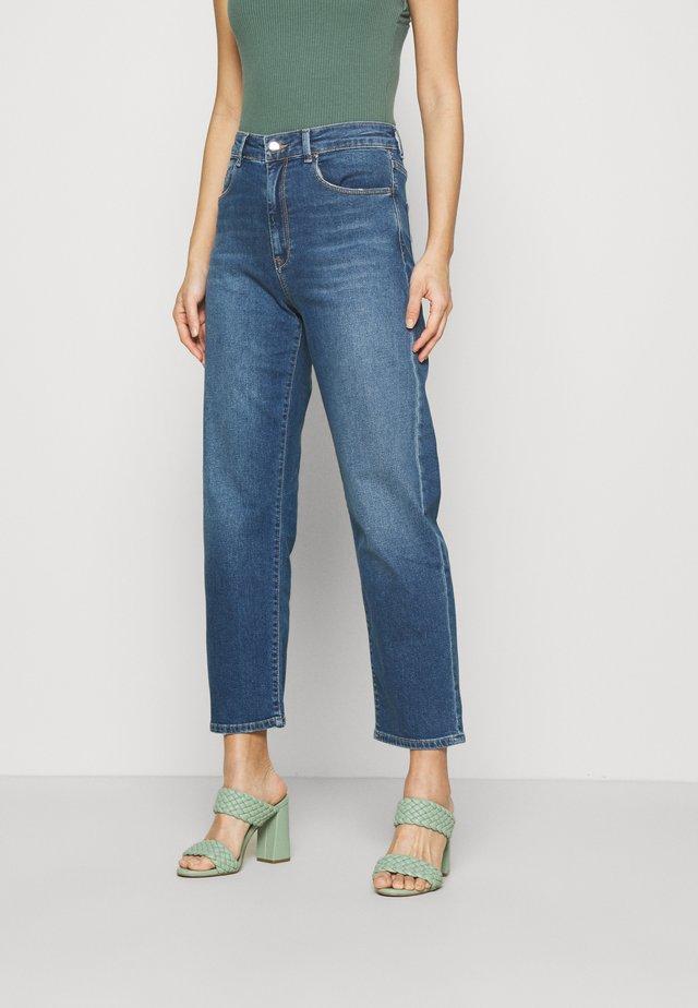 Jeans a sigaretta - blue medium wash