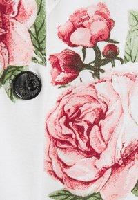 Vila - VISALU  - Blazer - snow white/pink/green flowers - 2