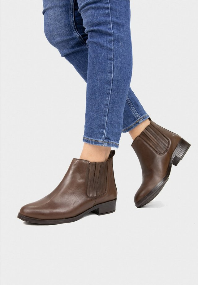 Ankle boots - moka