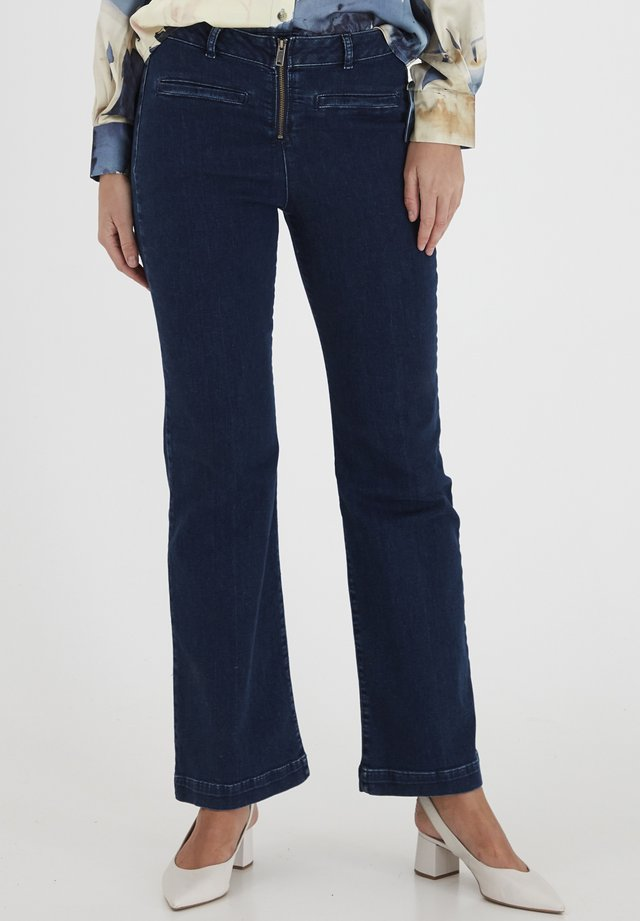 DRLARRIET 3 TALIA  - Slim fit jeans - mid neptune blue