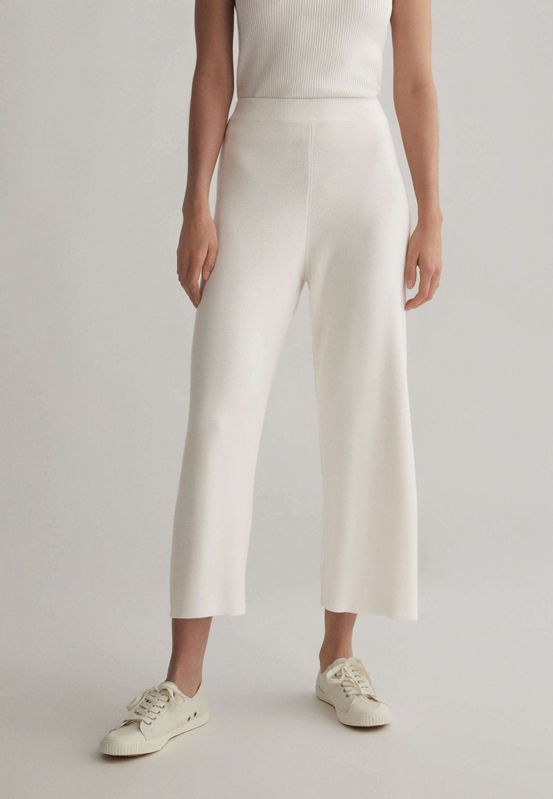OYSHO - Kalhoty - white