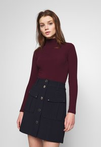 New Look - Topper langermet - dark burgundy - 0
