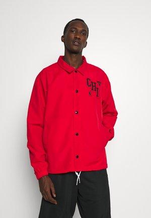 NBA CHICAGO BULLS COACH JACKET - Klubbkläder - university red/black