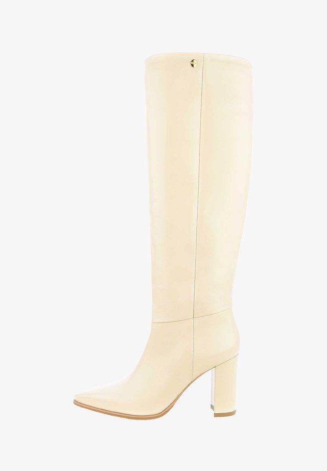 TIGGIANO - Laarzen met hoge hak - beige