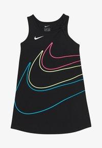 Nike Sportswear - GIRLS KNOT TANK DRESS - Vestito di maglina - black - 2